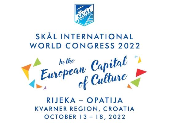 Skål Club Kvarner confirmed as host of the Skål International World Congress in 2022