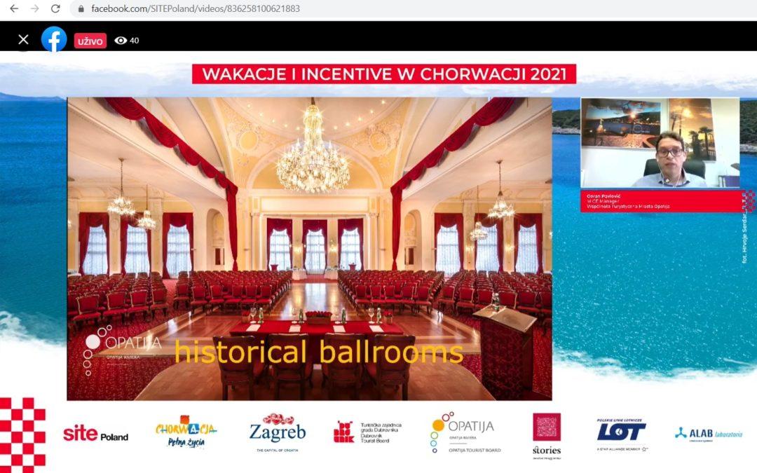 Turistička zajednica grada Opatija predstavila turističku ponudu Opatije utjecajnim poljskim agentima